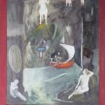 VIAGGIO DI CHIRONE cm 40 x 50