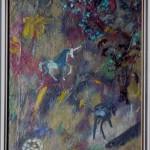 BESTIARIO FANTASTICO CON UNICORNO  cm 34 x 41